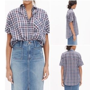 Madewell | Dekalb Plaid Courier Button Down Shirt